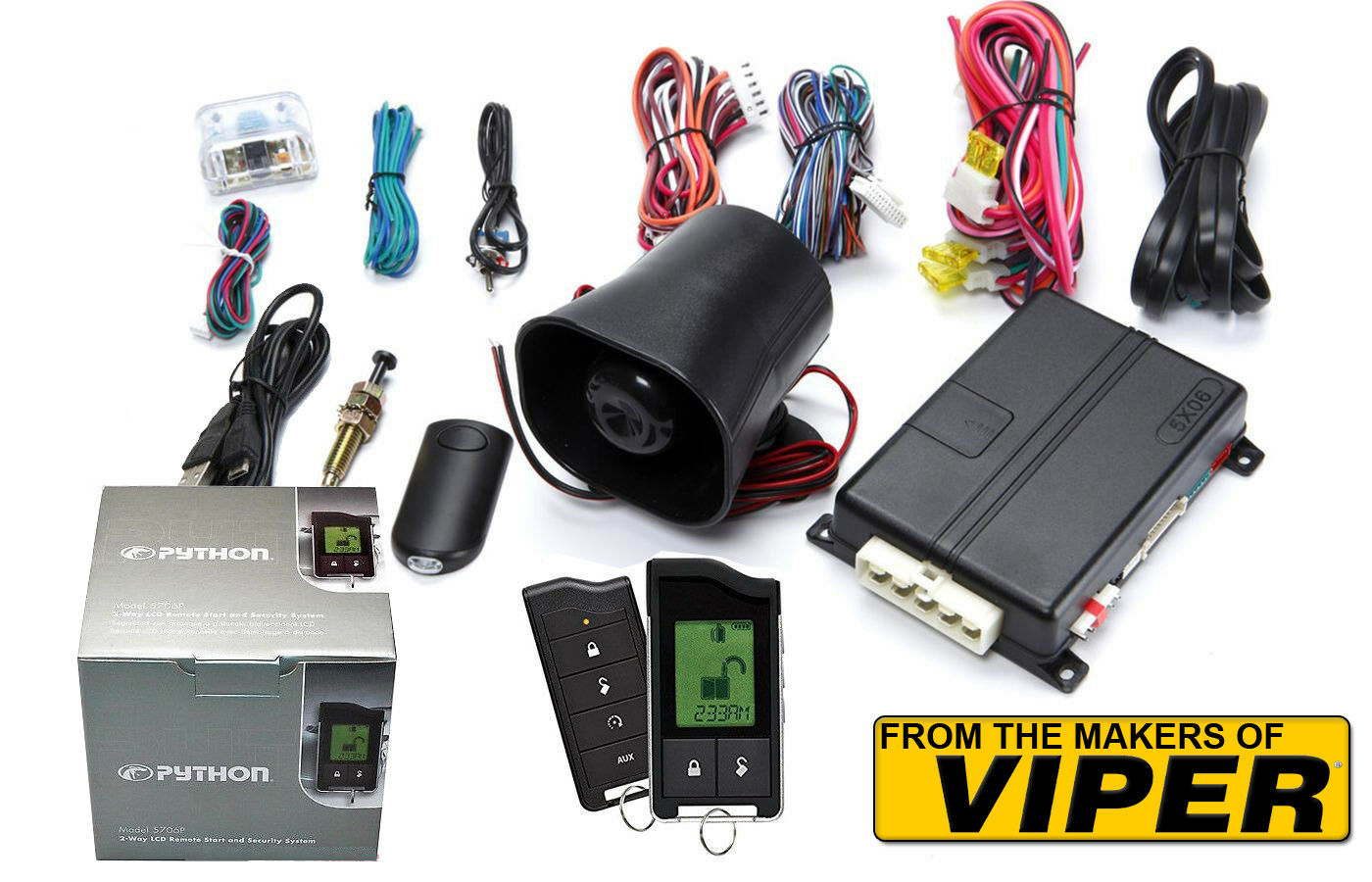 The Creators Of Viper Python 5706p 2 Way Lcd Car Alarm Remote Start Wiring Diagram For 5706v System 1 4free Shipping See More