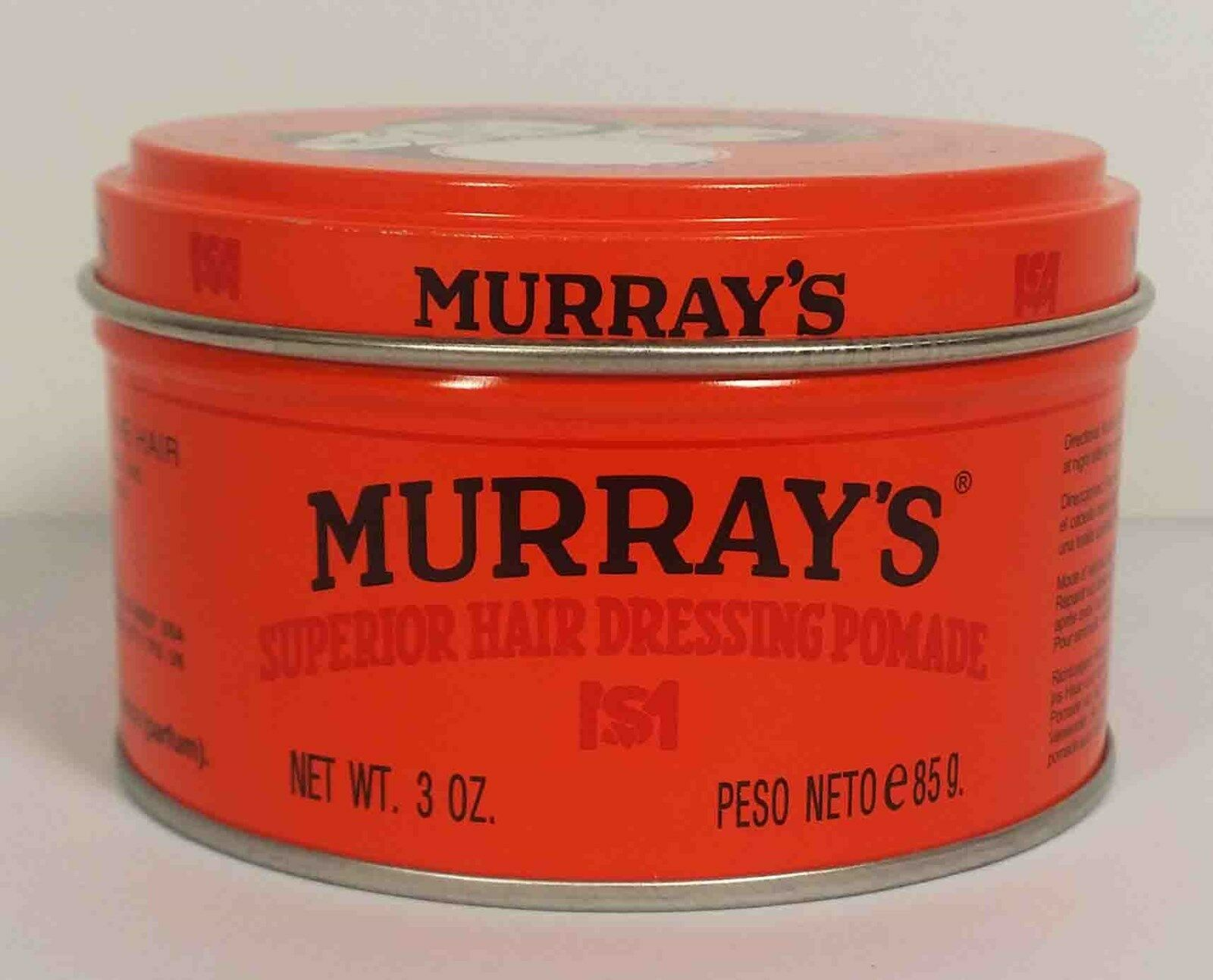 Murrays Superior Hair Dressing Pomade 3oz 599 Picclick Murray Nunile 1 Of 2free Shipping