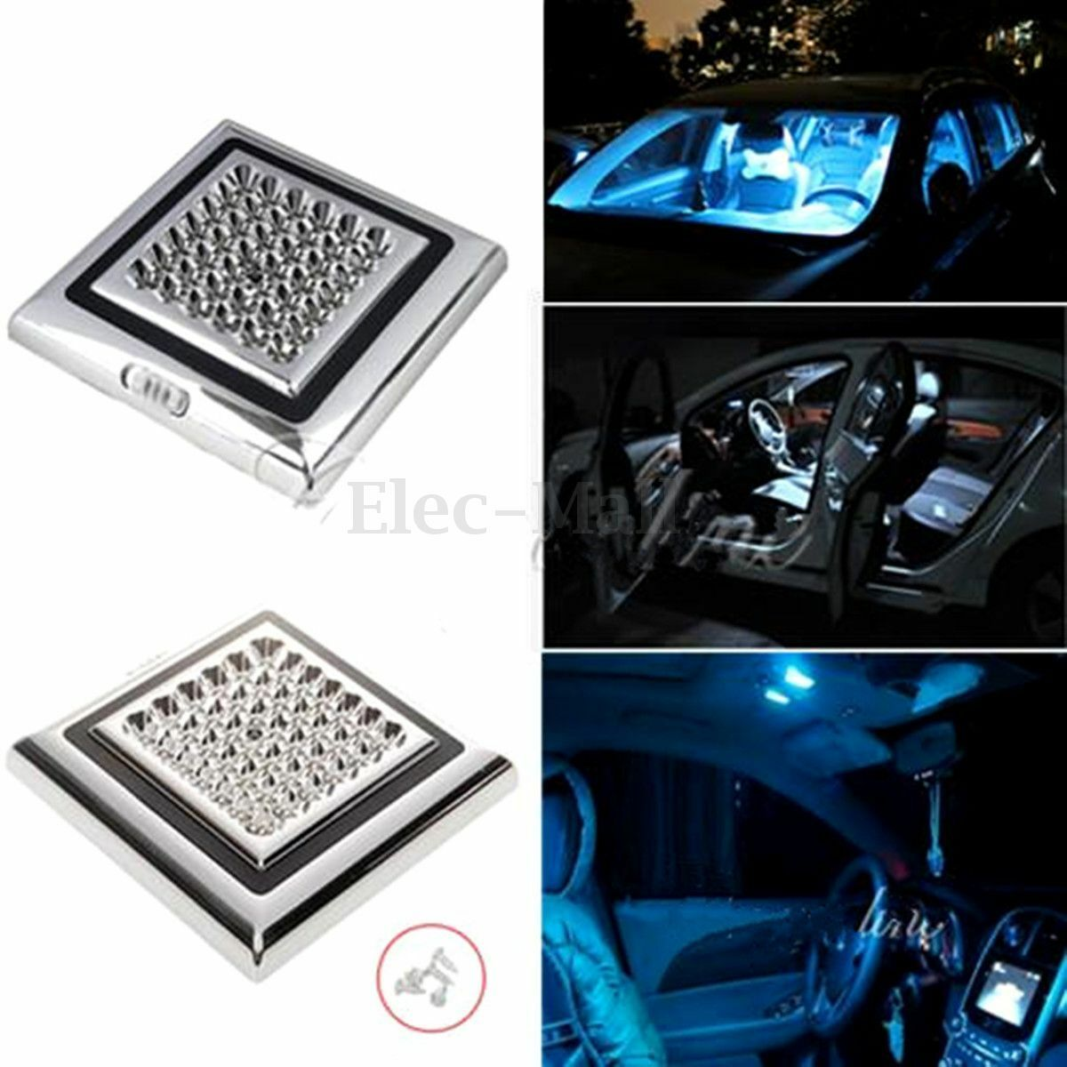 42 led lampe plafond toit plafonnier int rieur lumi re blanc clairage voiture eur 4 74. Black Bedroom Furniture Sets. Home Design Ideas