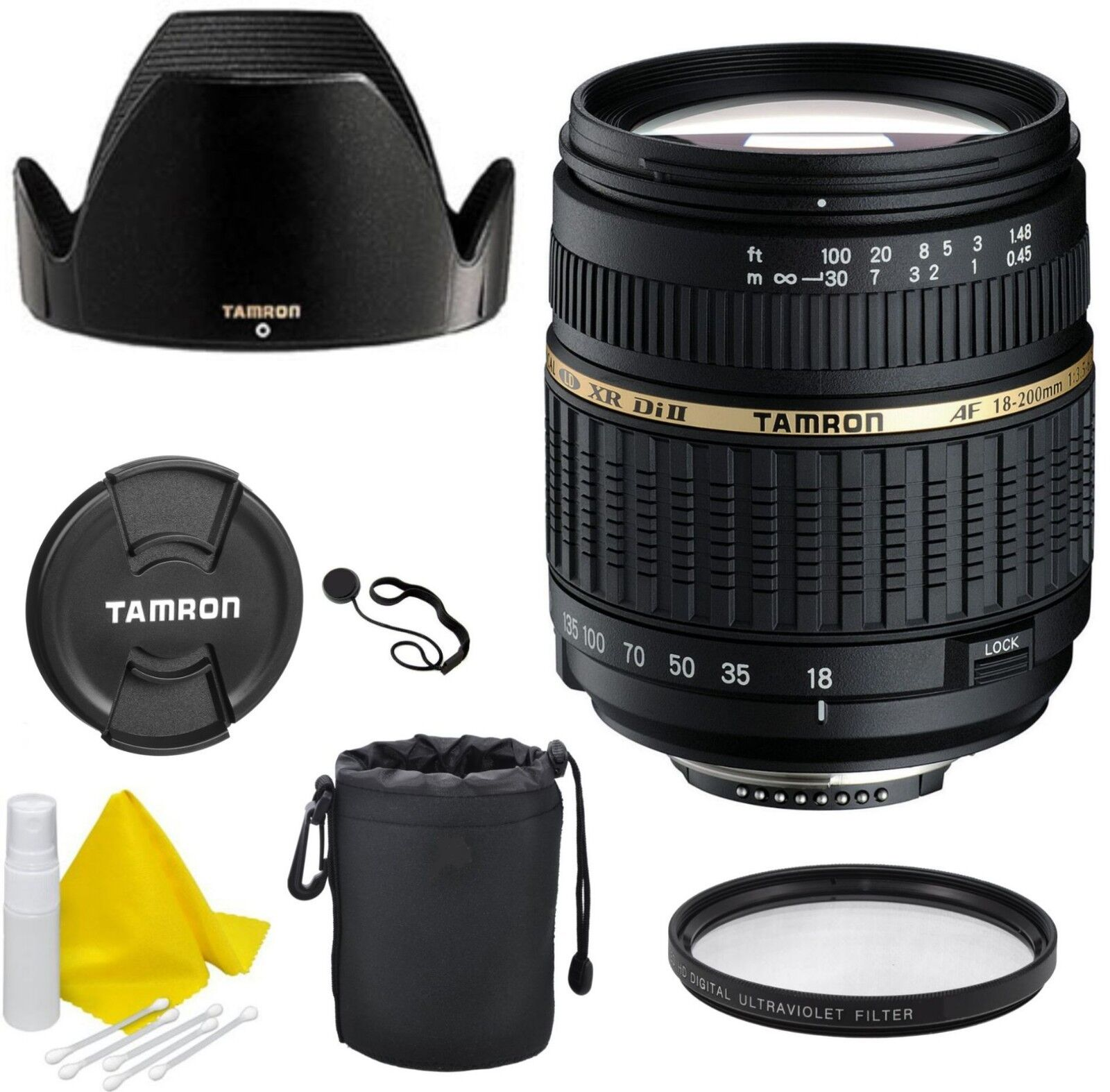 tamron 18 200 mm f 3 5 6 3 di ii xr aspherical af if lens for canon chf picclick ch. Black Bedroom Furniture Sets. Home Design Ideas