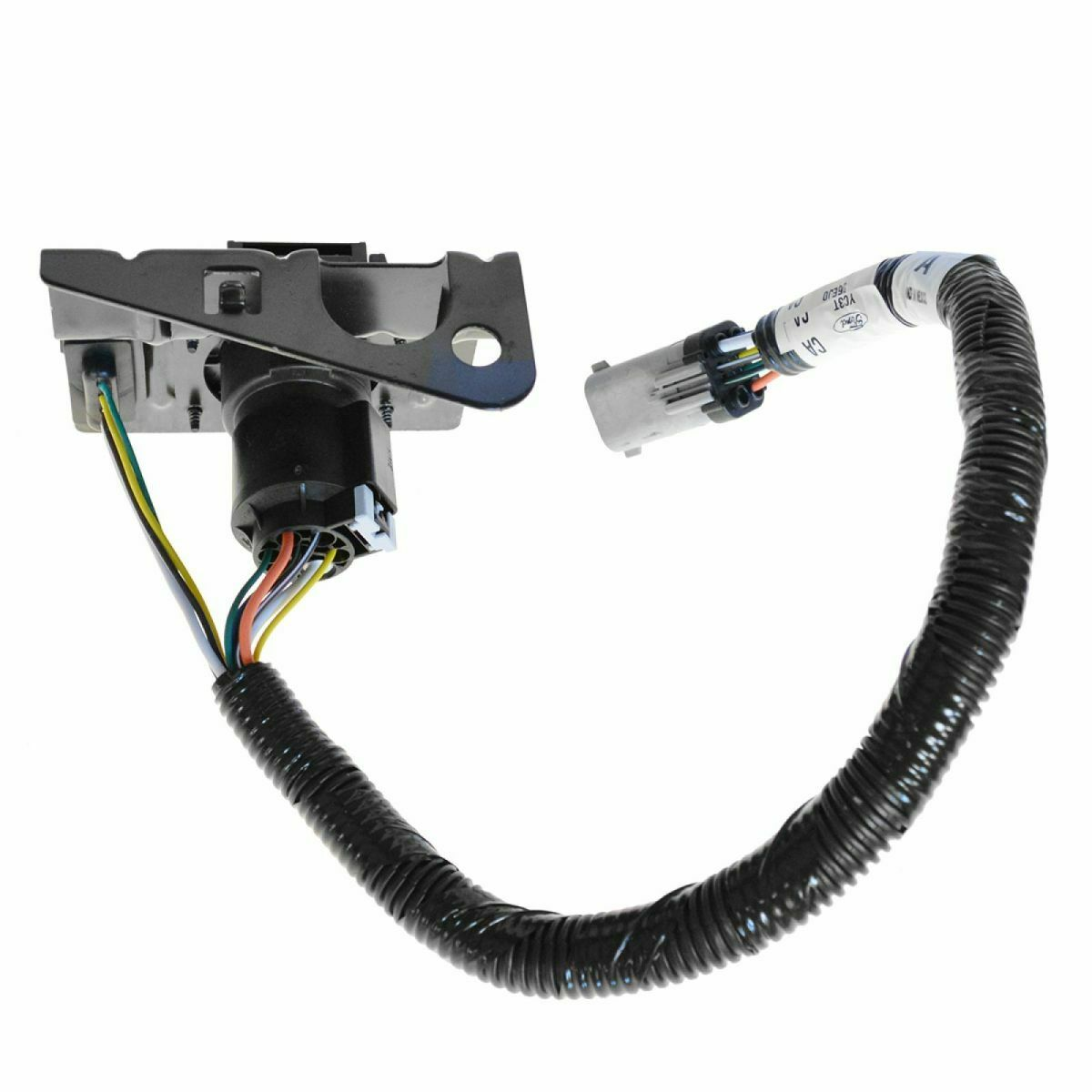 Ford F350 Trailer Wiring Harness 2003 F 250 4 7 Pin Tow W Plug Bracket For F250 Rh Picclick Com 1997