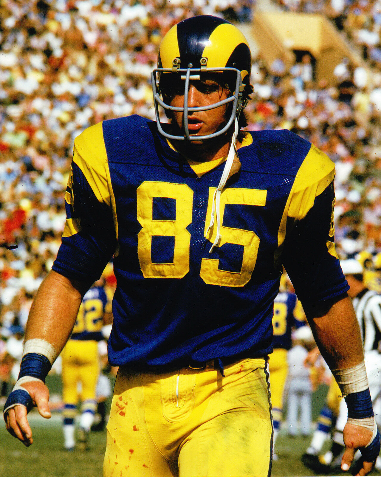 JACK YOUNGBLOOD ~ 8 x 10 Photo ~ LOS ANGELES RAMS ~ Great picture for ...: picclick.com/jack-youngblood-8-x-10-photo-131615929974.html