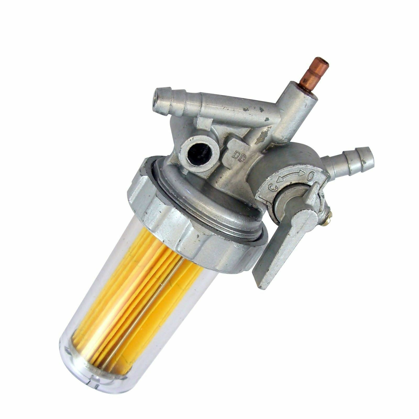 External Diesel Fuel Filter Assembly ETQ DG6LN DG5500 DG7250LE DWG6LE  Generator 1 of 1 See More