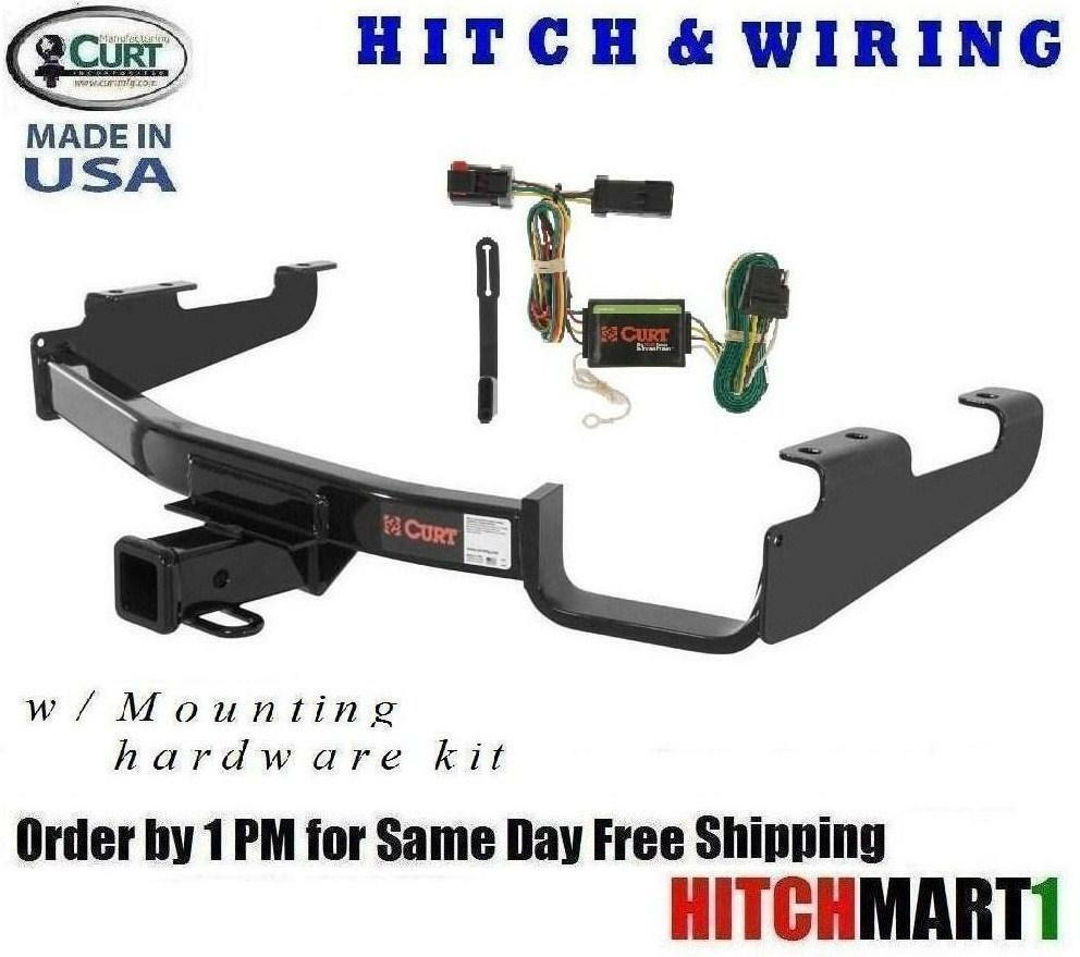 Fits 2001-2003 Dodge Grand Caravan Class 3 Curt Trailer Hitch & Wiring  13362 1 of 6Only 1 available ...