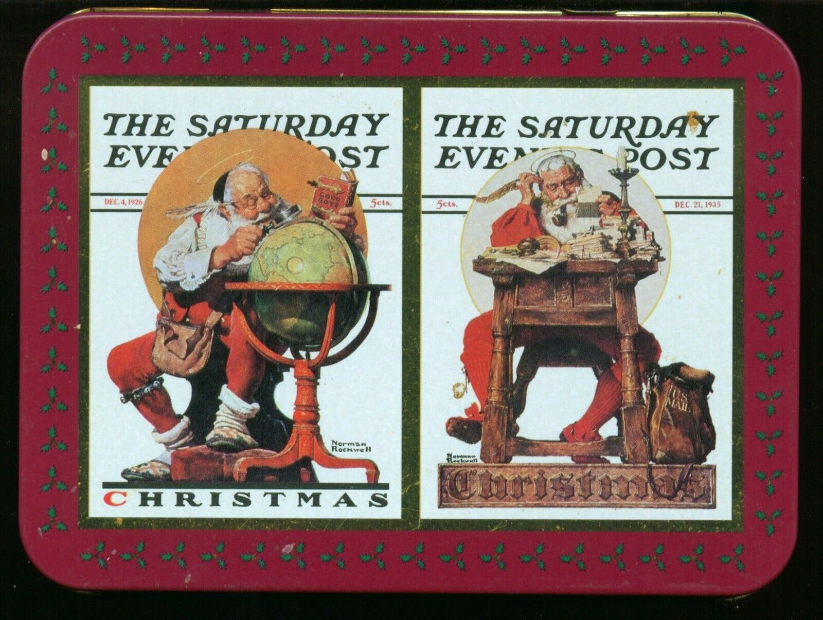 NORMAN ROCKWELL CHRISTMAS Playing Cards - $12.00 | PicClick