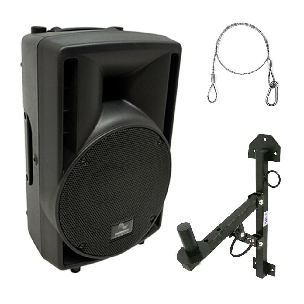 Harmony Audio Ha C8a Pro Dj 8 Powered 300w Active Pa Speaker Wall Wire Harness 1 Of 6free Shipping