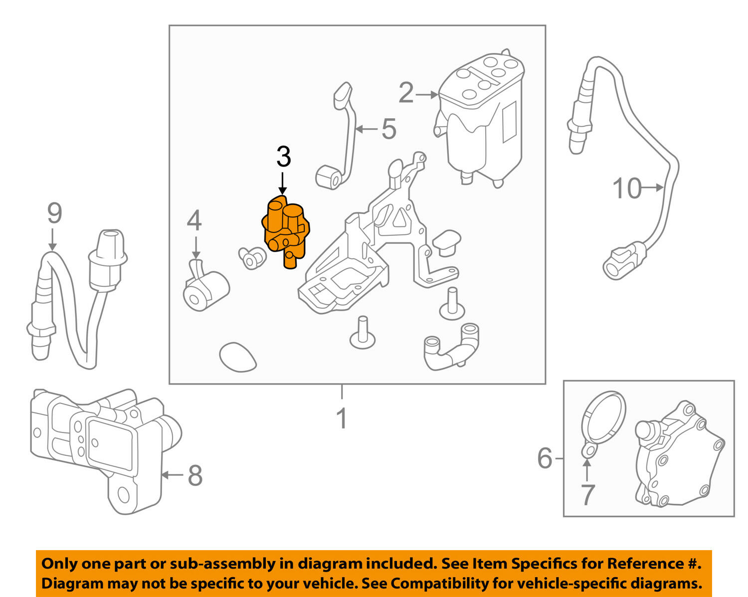 Land Rover Oem 12 17 Range Evoque Vapor Canister Purge Valve Wiring Diagrams 1 Of 1free Shipping