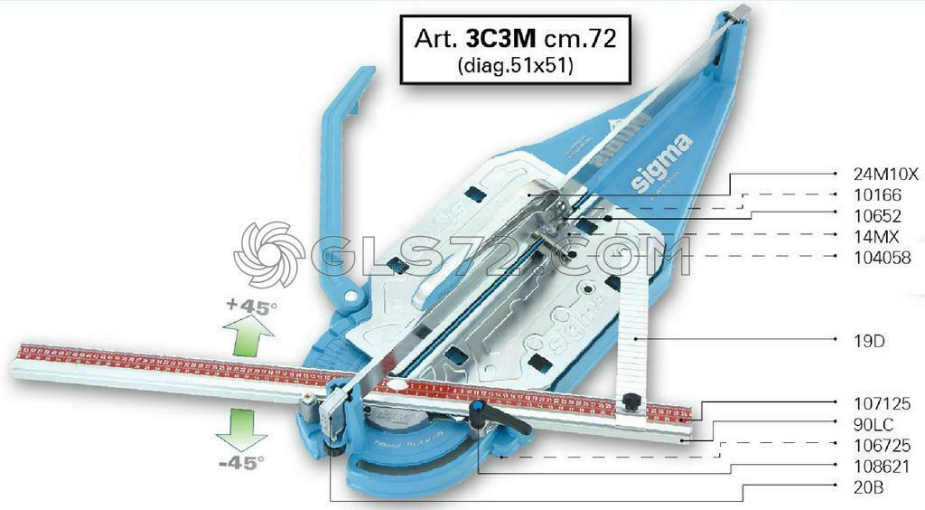Spare Parts And Accessoires For Tile Cutter Sigma 3c3m 1 Of See More