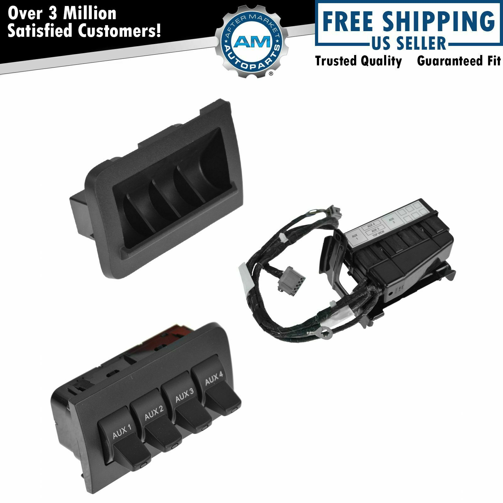 2012 Ford Upfitter Switches Switch Wiring Oem In Dash Kit For Super Duty 1200x1200