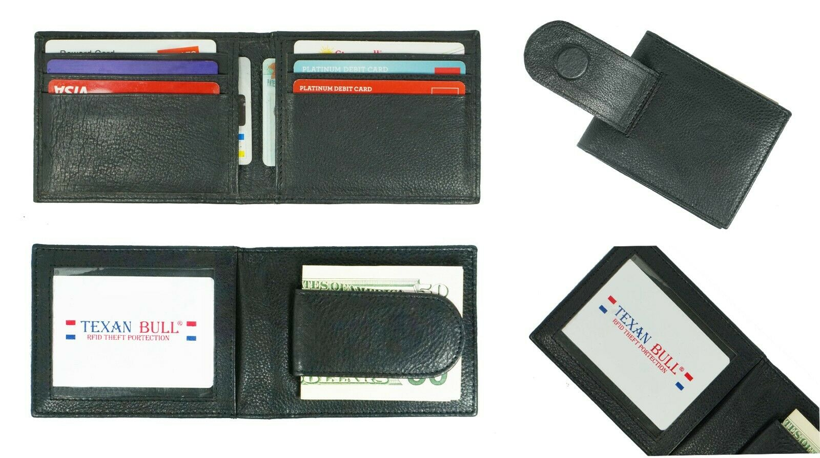 1 of 10free shipping - Bifold Card Holder