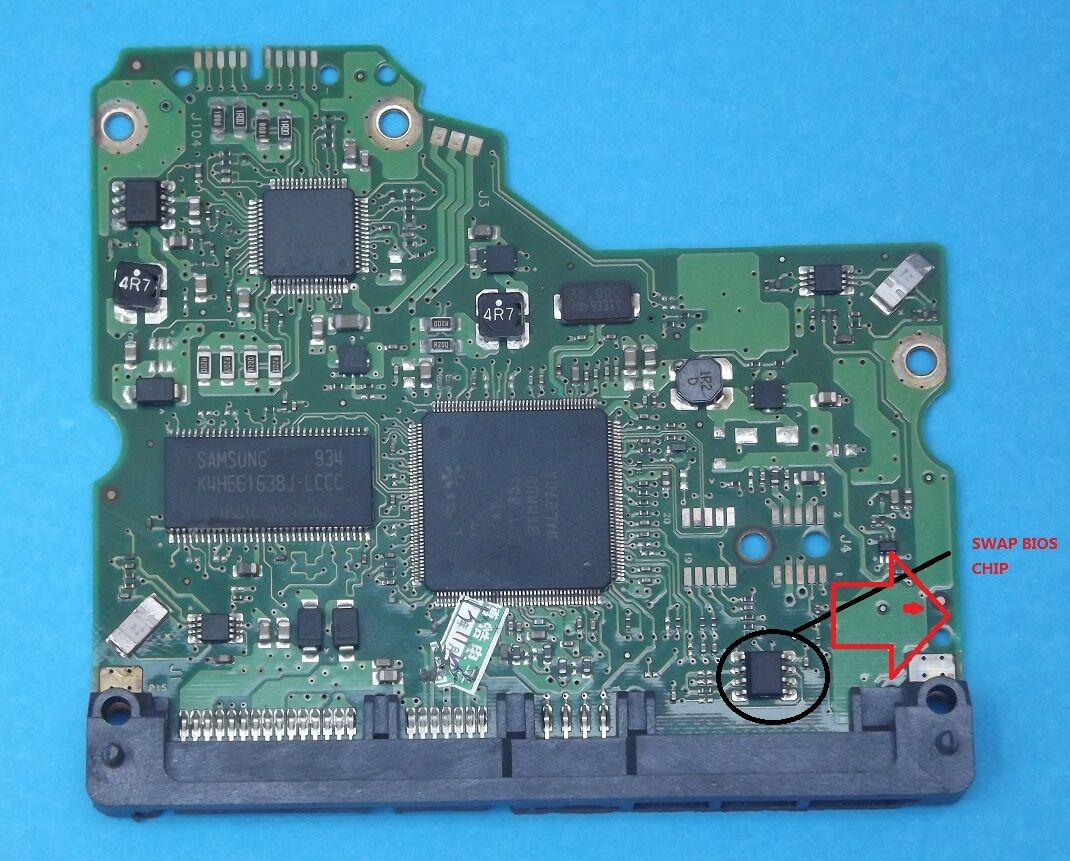 100466824 Rev A B C Seagate Pcb Circuit Board Hard Drive Logic Controller 1 Of 4only 3 Available See More