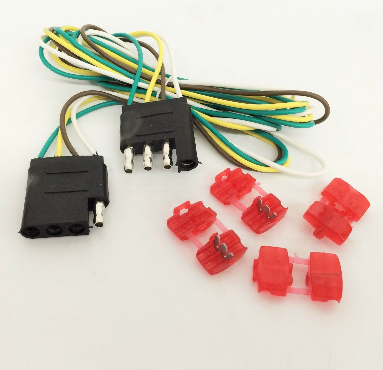 48 Trailer Light Wire 4 Way Flat Extension New How To A Pole 1 Of 1free Shipping See More