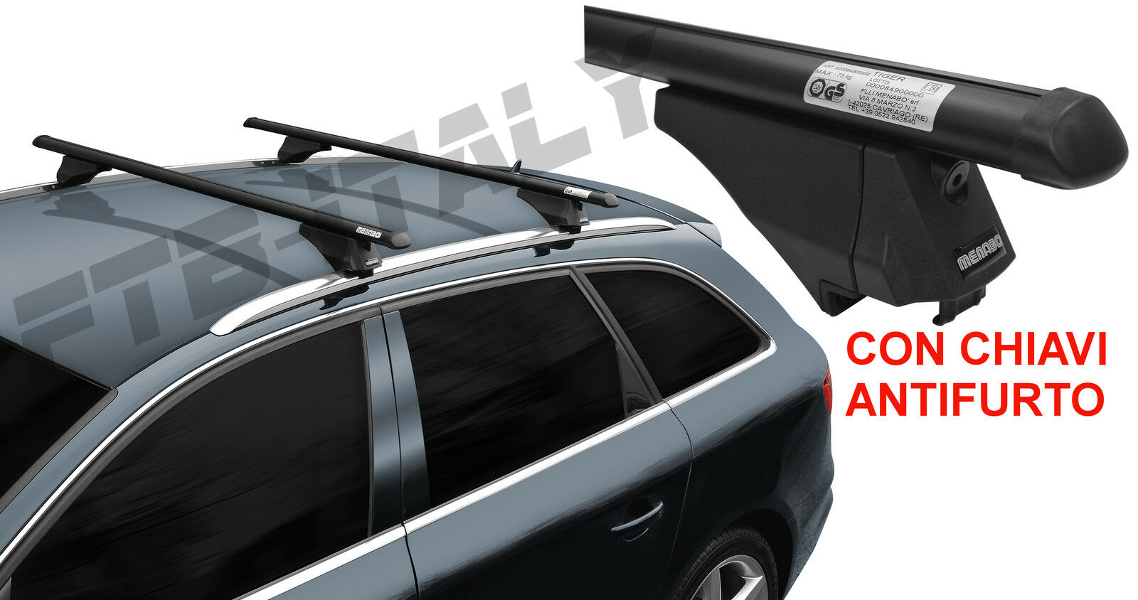 barre portatutto auto opel zafira b dal 2009 al 2012. Black Bedroom Furniture Sets. Home Design Ideas
