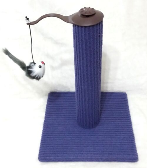 Cat Scratching Post Kitten Playpost Feet Shape Scratch N Pole Toy+ Mouse Toy New