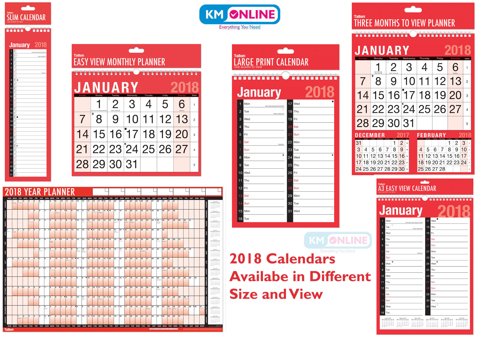 Hanging Planner Calendar : Hanging wall calendar large month to view planner