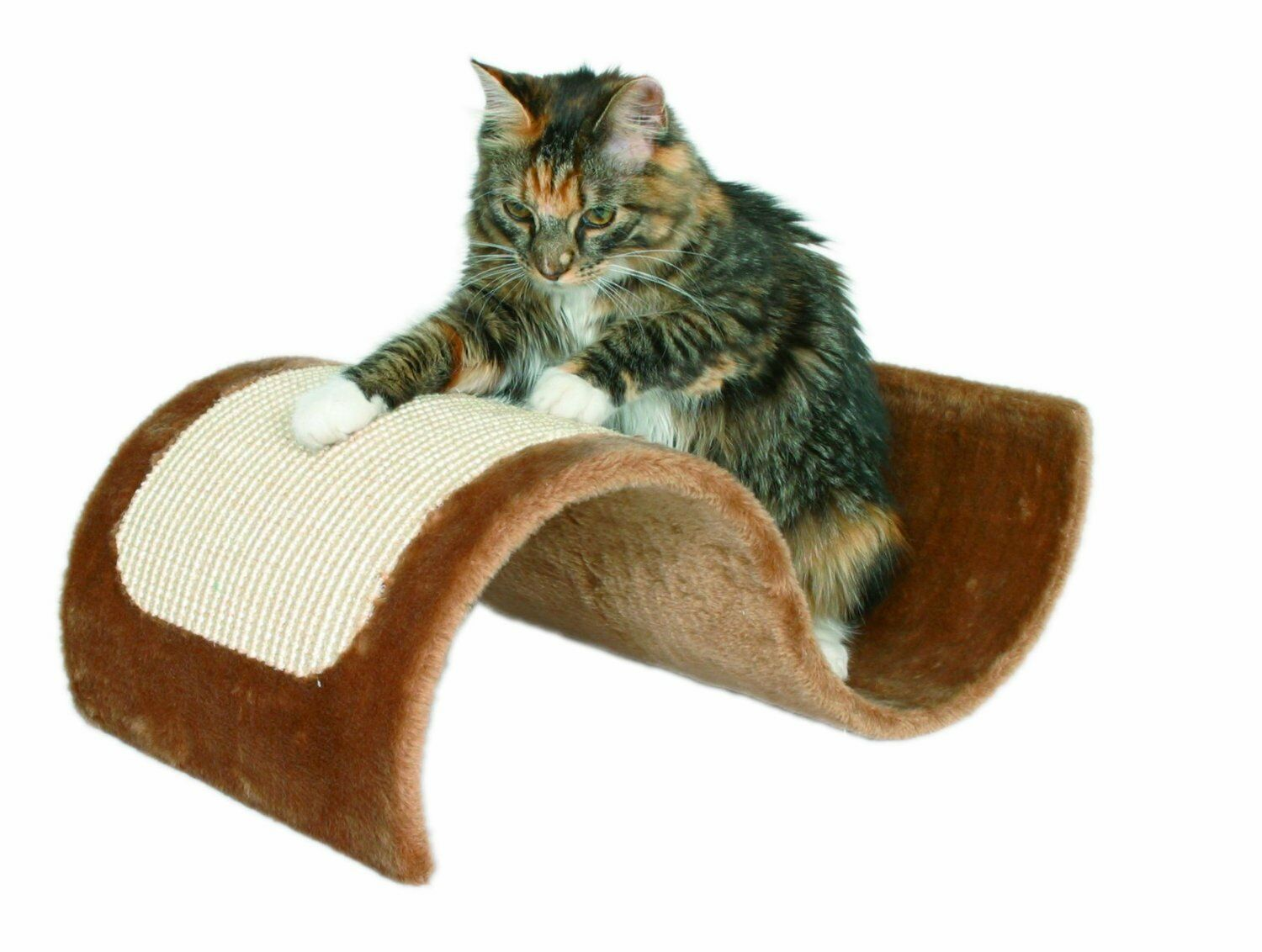 Trixie 43260 Wavy Scratching Board 29  - 18  - 50 cm Brown