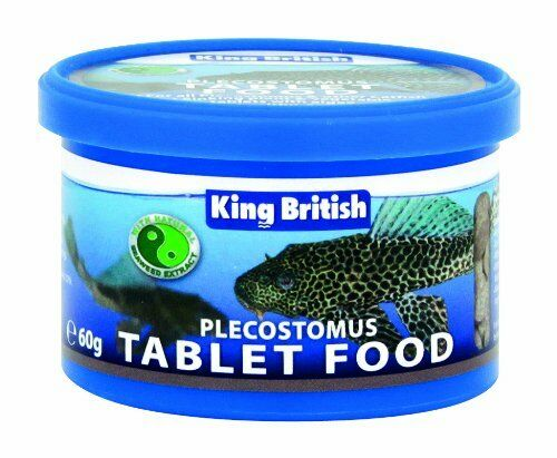 King British Plecostomus Food Tablets 60 g 3 Pack offer