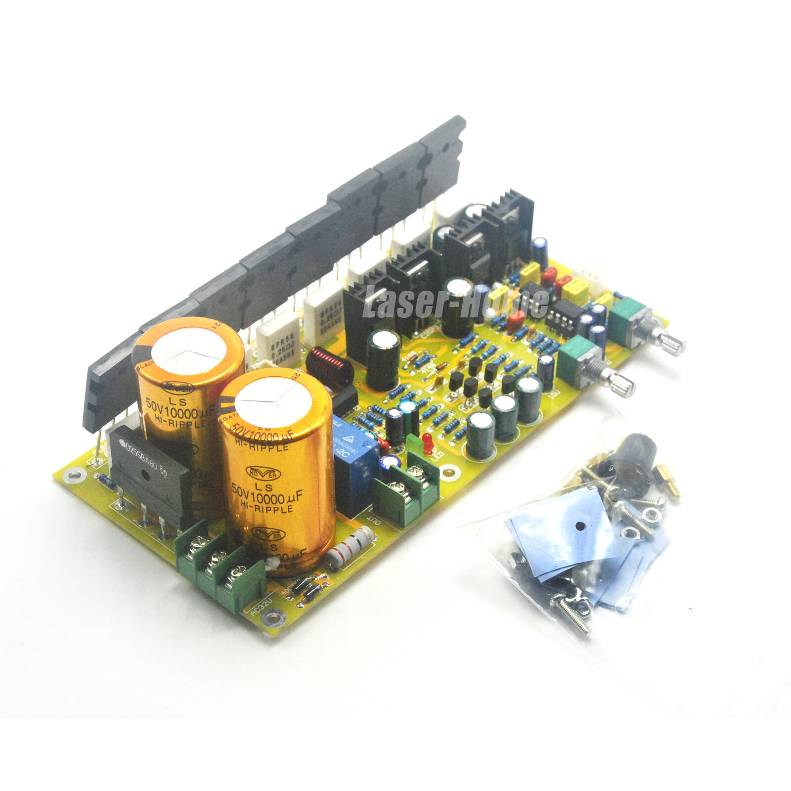400w 30hz 200hz Amplifier Board High Power Active Subwoofer Pure 1200w Circuit Sanken Electronic Bass 1 Of 5free Shipping