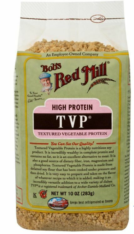 New Bob's Red Mill Tvp Texture Vegtable Protein Gluten Free Food Groceries Daily