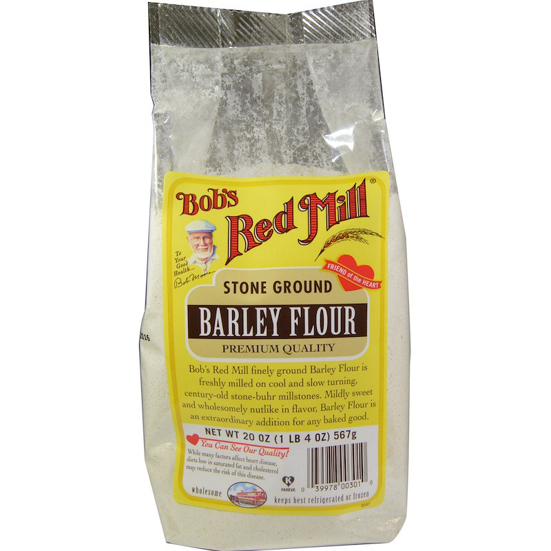 New Bob's Red Mill Stone Ground Barley Flour Mixes Food Groceries Healthy Food