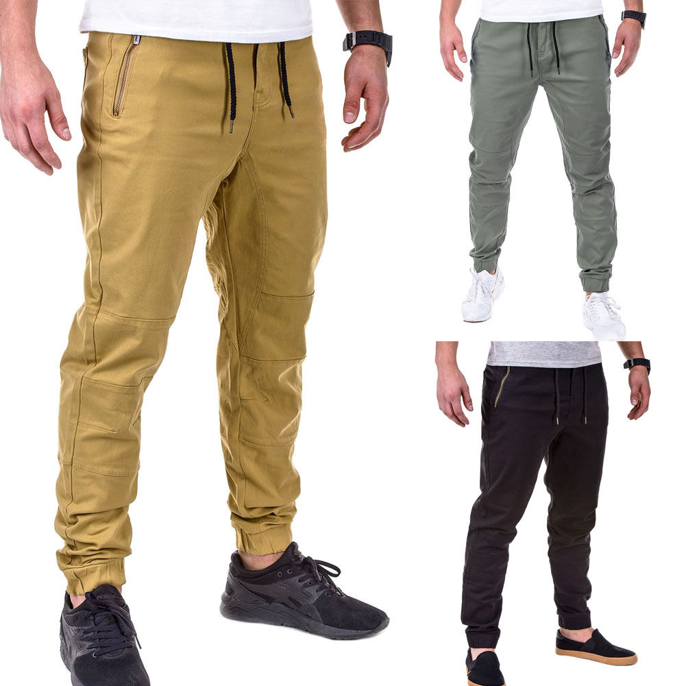 herren chinohose jogger chino hose jogginghose style beige blau grau jeans neu eur 22 90. Black Bedroom Furniture Sets. Home Design Ideas