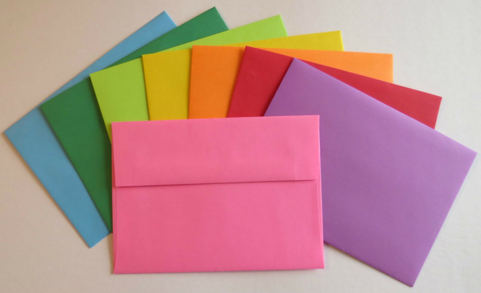 A7 7 14 X 5 14 Astrobright Colored Greeting Card Paper Envelopes