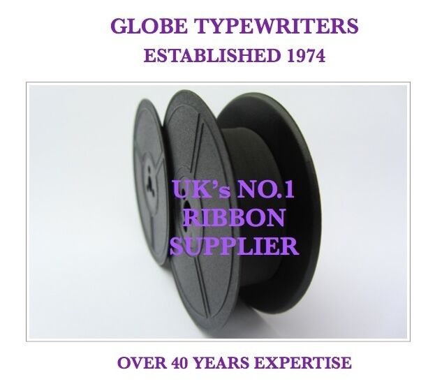 1 x 'TRIUMPH GABRIELE 25' *PURPLE* TOP QUALITY *10 METRE* TYPEWRITER RIBBON
