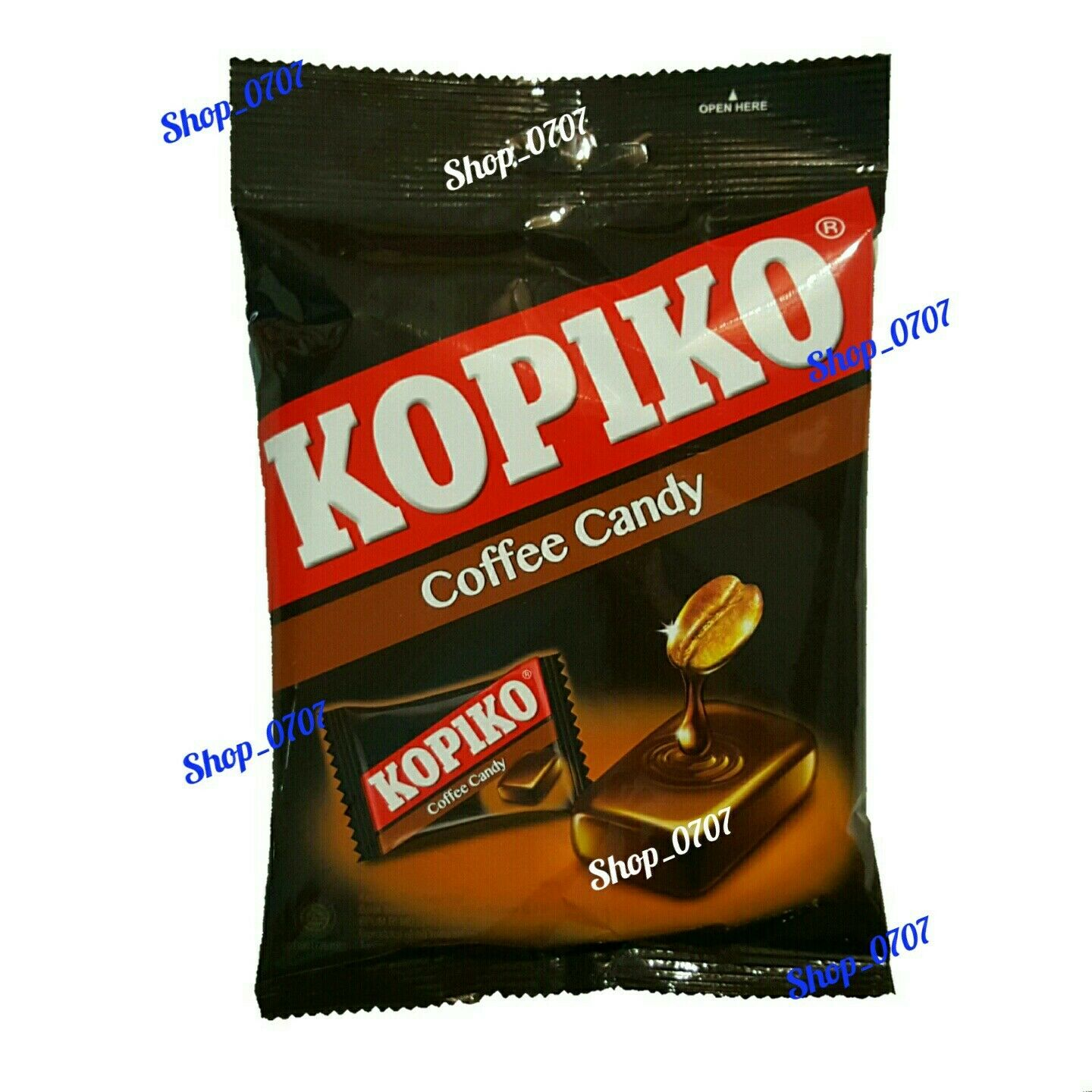 5 Packs x 150g  KOPIKO Coffee extract hard Candy  Strong and Rich coffee