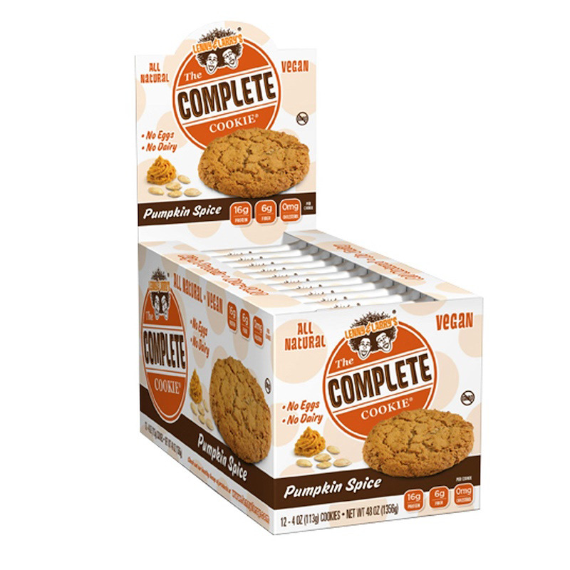 New Lenny & Larry's The Complete Cookie Protein Bar Vegan Cholesterol Free Care