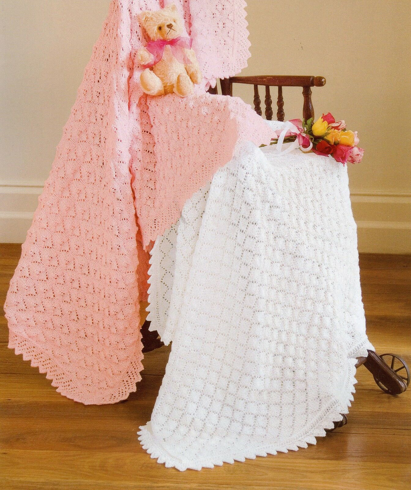 Knitting Patterns 4 Ply : Baby Knitting Patterns Gorgeous LACY Shawls 4 ply   AUD 6.00 - PicClick AU