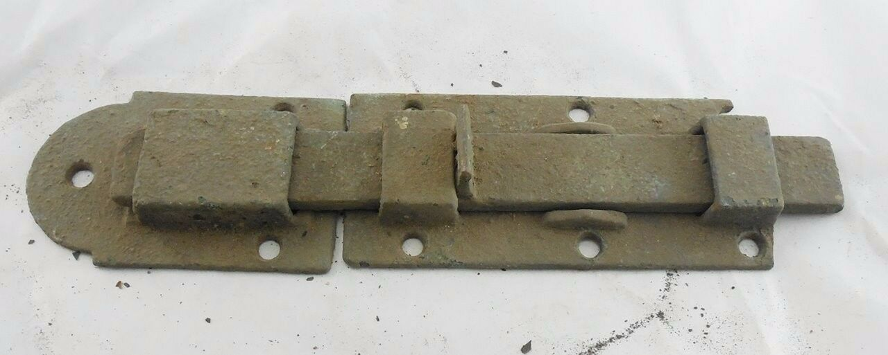 Antique 1860s Iron Shutter Latch Barn Door #16