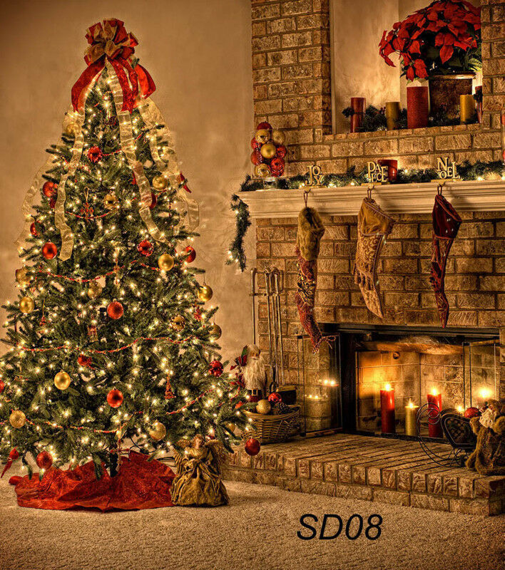 3x5ft vinyl studio christmas backdrop photography prop photo background sd08 1 of 1free shipping