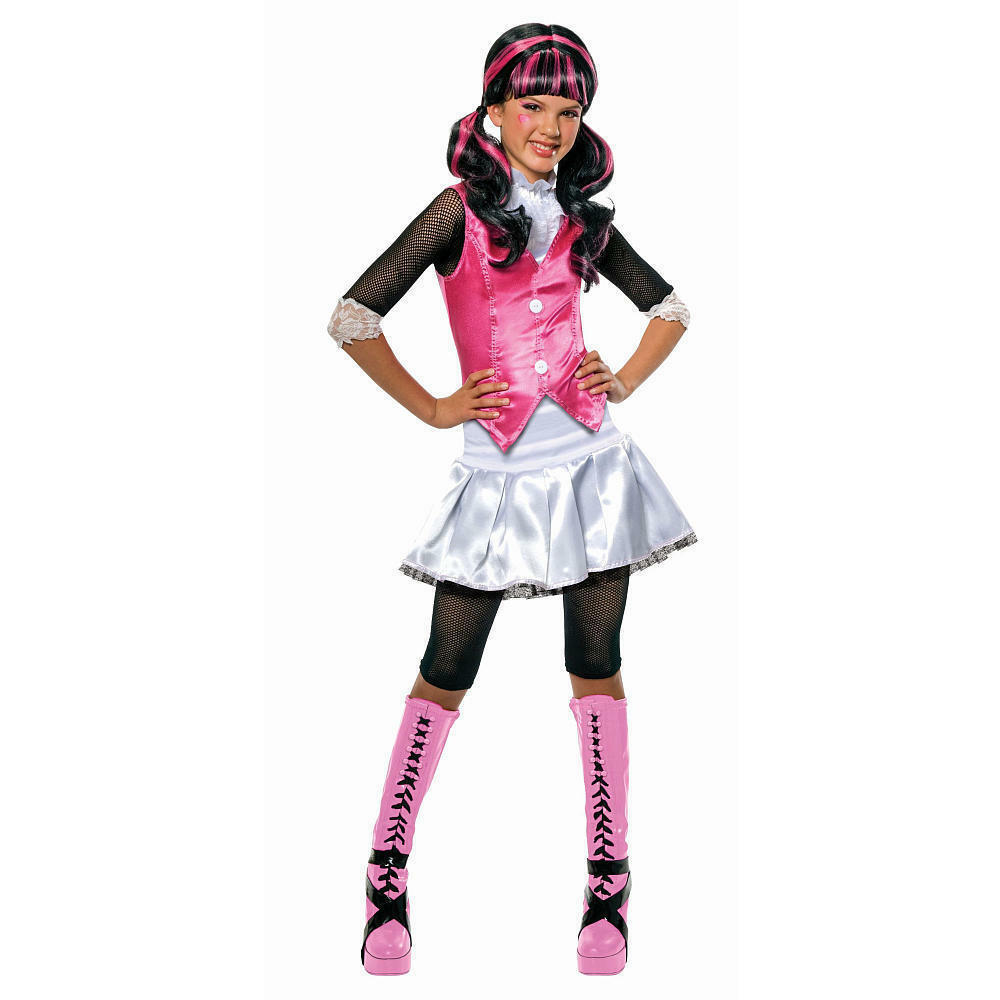 monster high draculaura child costume halloween cosplay fancy dress