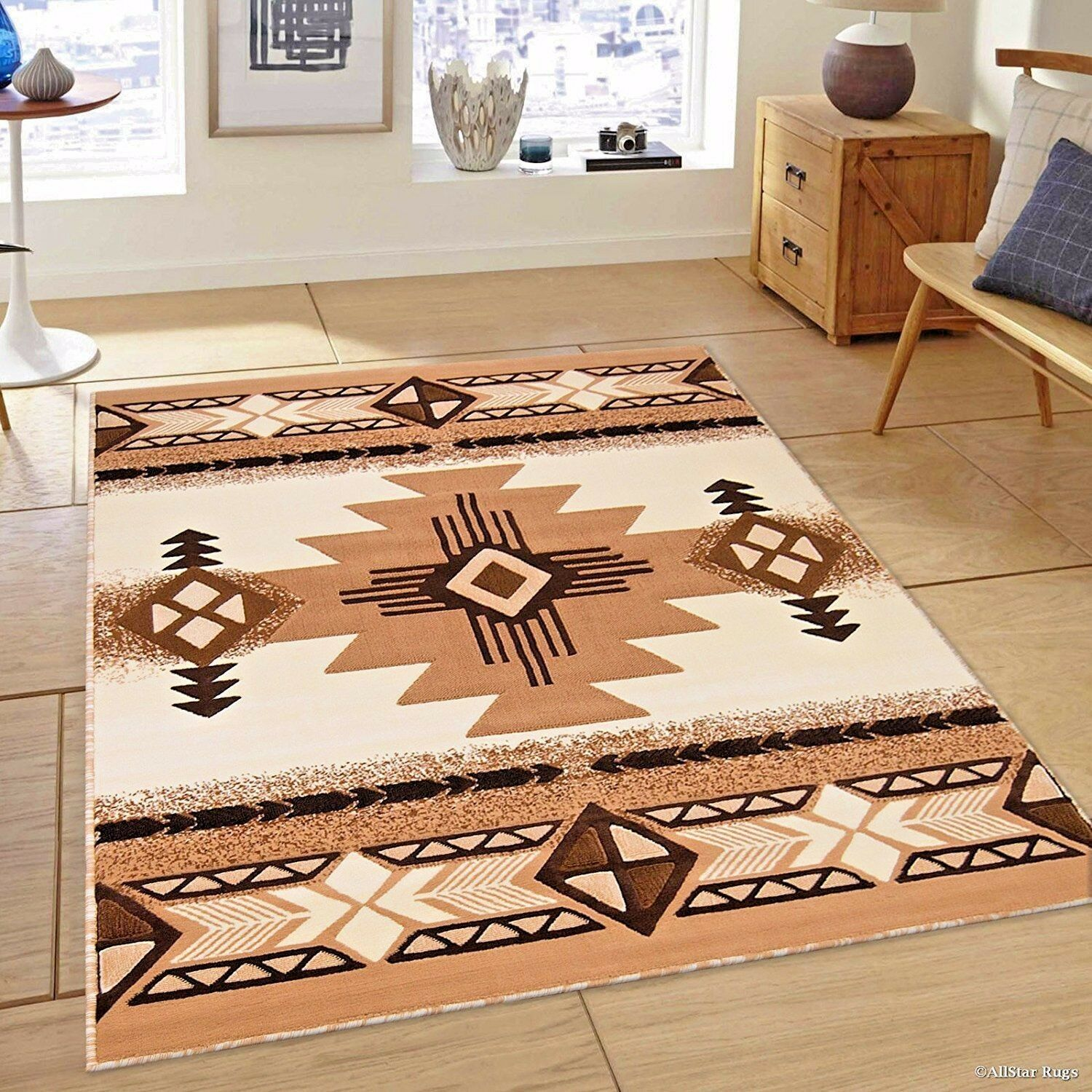 Rugs Area 8x10 Rug Carpets Large Southwestern Native American New 1 Of 10only 4 Available See More