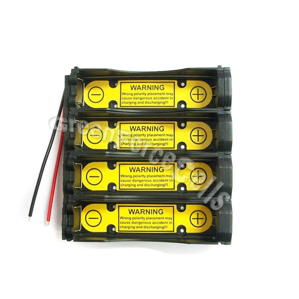 4 Pcs 2s2p 18650 74v Holder Case Battery Li Ion Pcm Protection Circuit Images Module 1 Of 5free Shipping See More