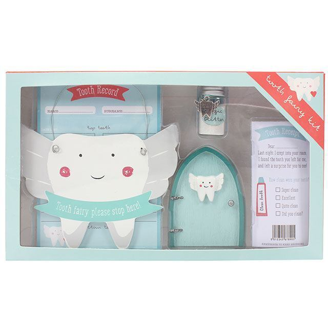 Tooth fairy door kit cute ornament keep sake gift set for Fairy door kits canada