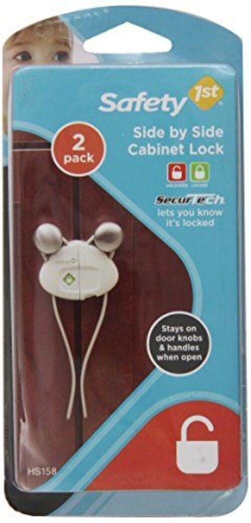 Safety 1st Side by Side Cabinet Lock 2 Pack - Safety First - New ...