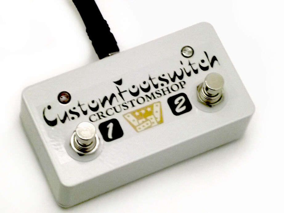 CR® CUSTOM FOOTSWITCH For Peavey Classic 20 Mh & 6505 Mh & Valveking ...