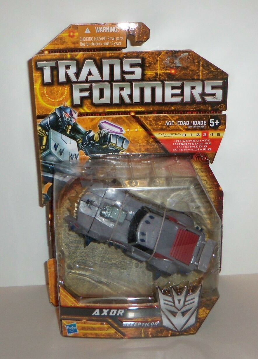 Transformers axor decepticon new in packet chf for Axor transformers