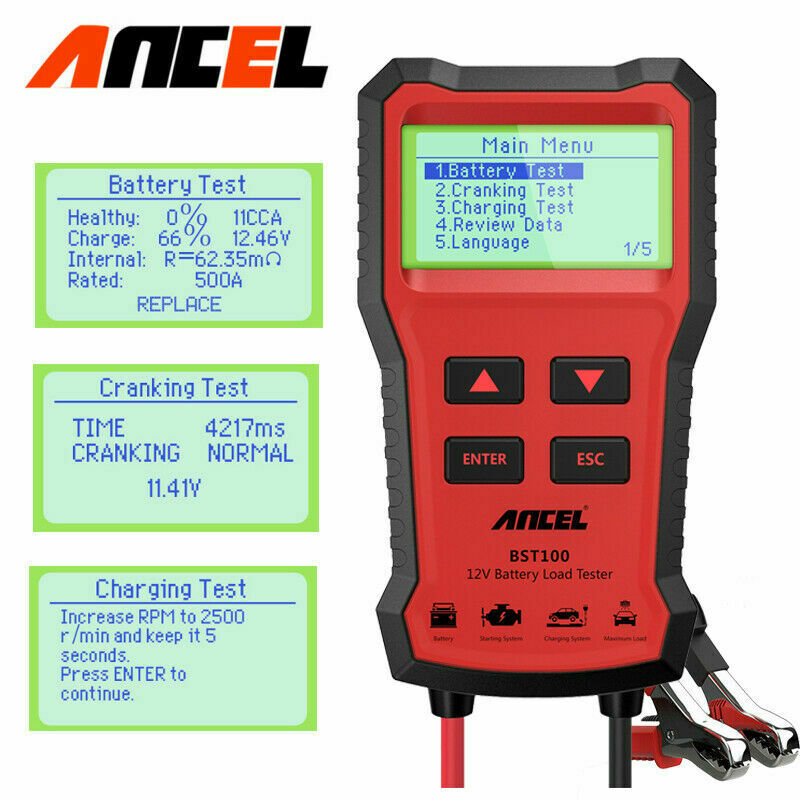 12v 24v Digital Car Circuit Tester Voltage Power Avometer Diagnostic Lcd Ac Dc Continuity Ta Ebay Scan Tool 1 Of 12free Shipping