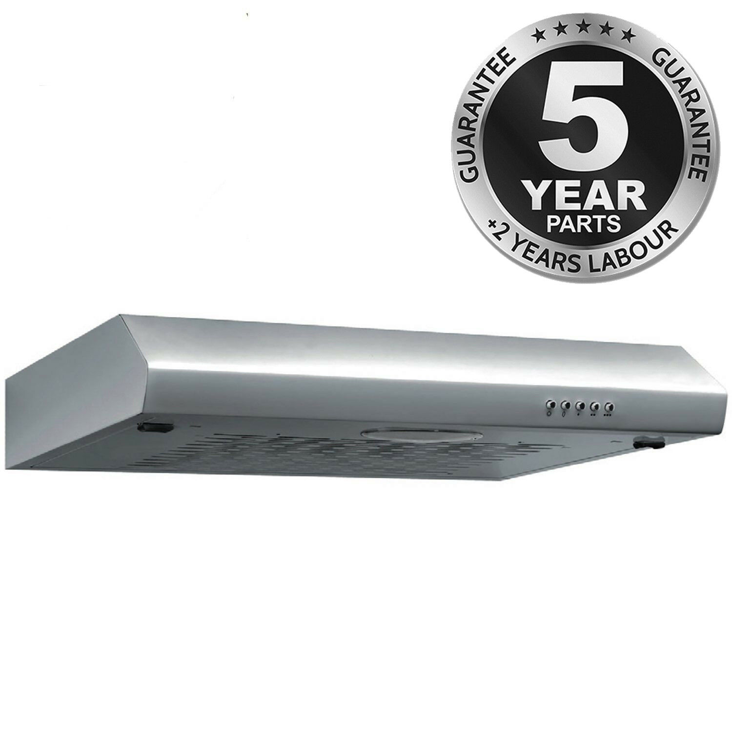Sia st60ss 60cm visor cooker hood kitchen extractor fan in for Kitchen extractor fan