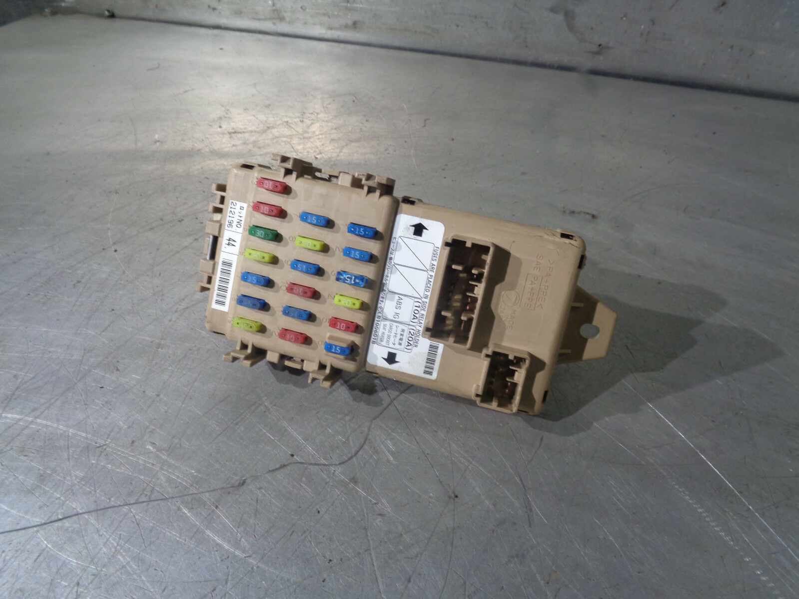 Subaru Impreza Blobeye Wrx 03 05 Interior Electrical Fuse Box 1 Of 3only Available