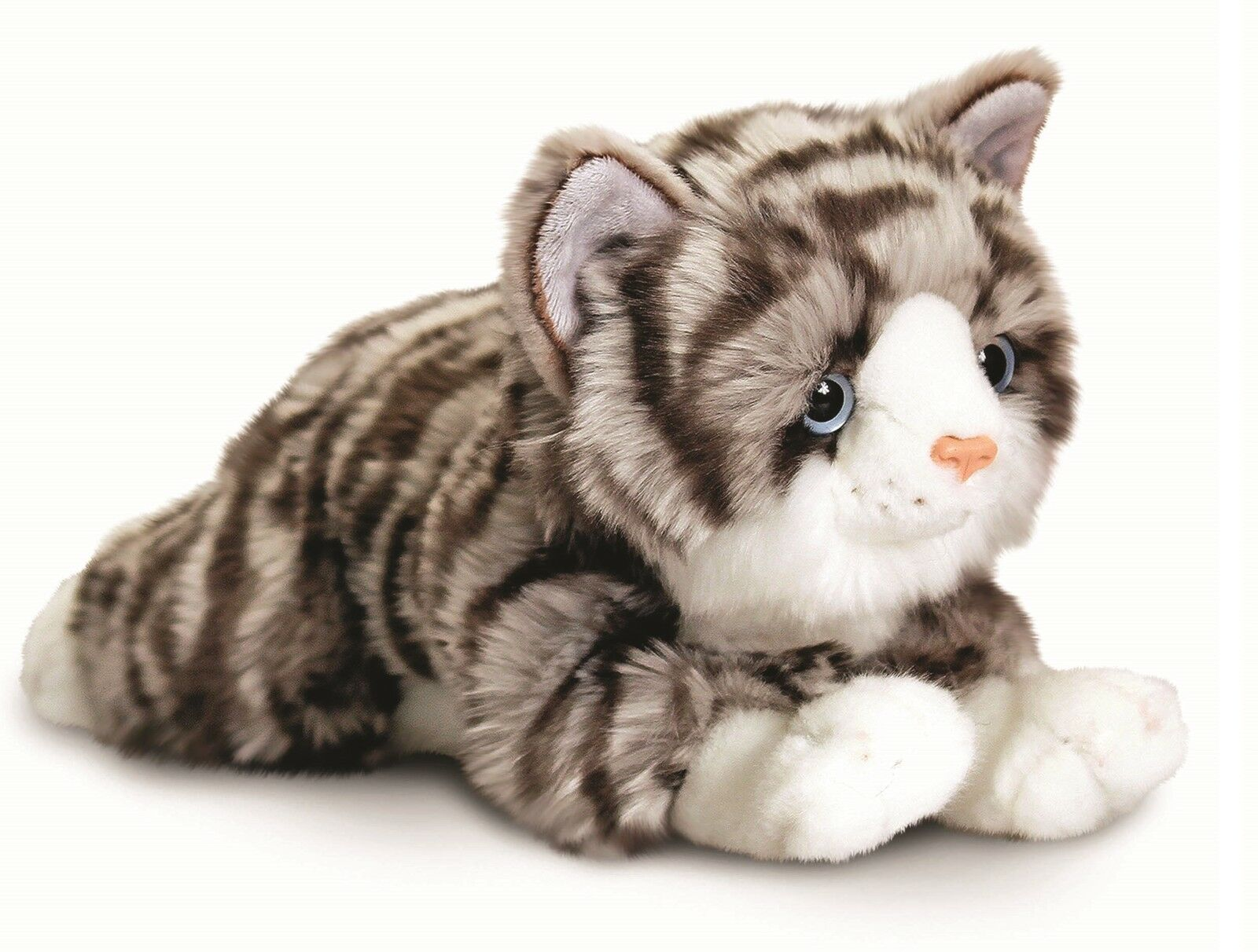 Grey Cat Cuddly Toy