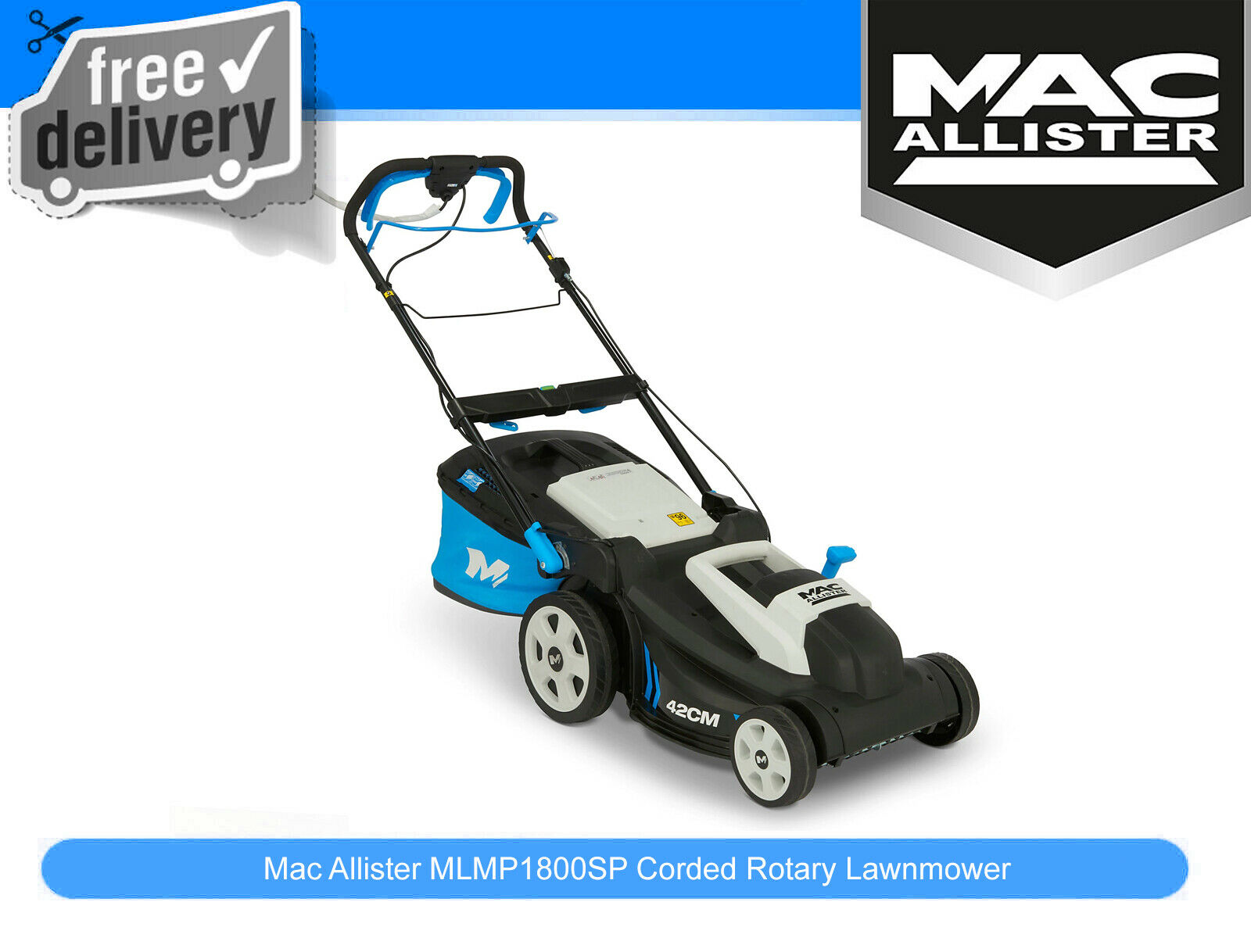 mcculloch m46 140wr petrol self propelled lawnmower 184. Black Bedroom Furniture Sets. Home Design Ideas