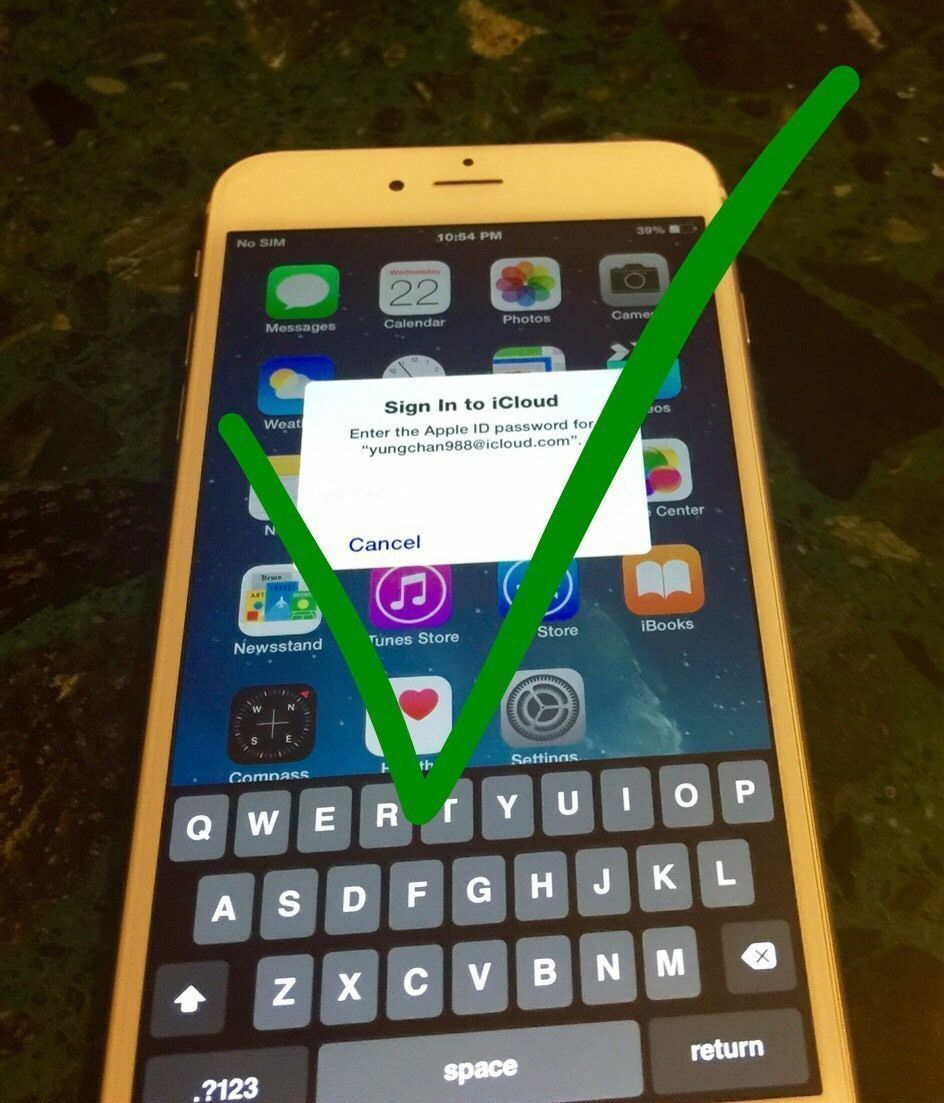 how to take off icloud from iphone