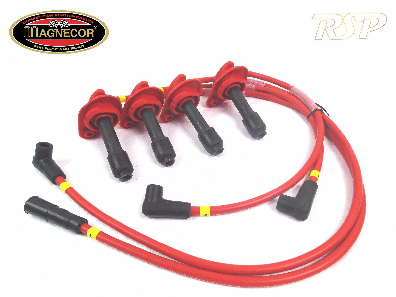 Magnecor Kv85 Ignition Ht Lead Set Forester Impreza Turbo 2000 Jdm Subaru Spark Plug Wires Wrx Sti V5 1 Of 2only Available