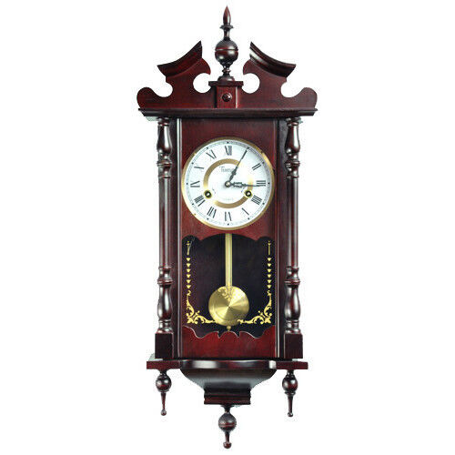 New watch hanging retro vintage antique wall clock wood old style pendulum time - Stylish pendulum wall clock ...