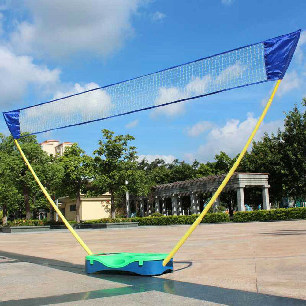 New Sport Games Portable Badminton Set Tennis Volleyball Net With