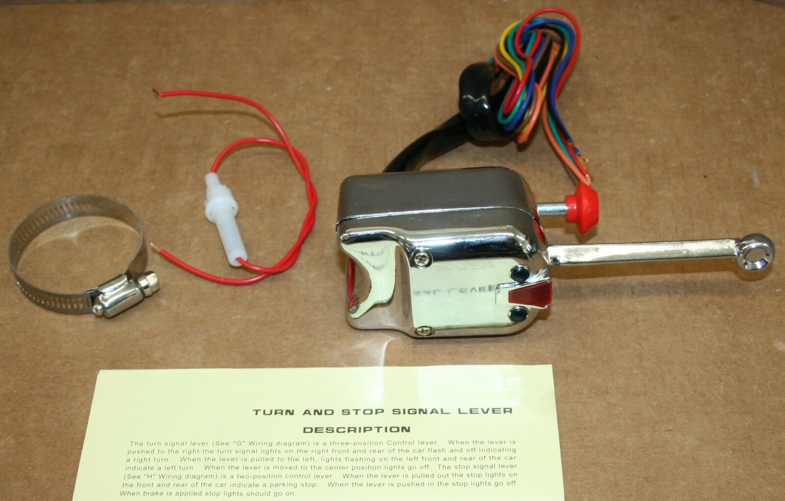 Griffin Turn Signal Switch Yankee Wiring Diagram Street Rod Rat New Of Only Available See 1600x1021