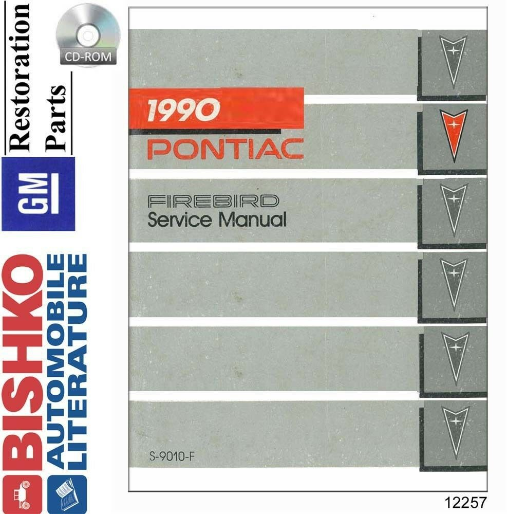 1990 Pontiac Firebird Shop Service Repair Manual Cd Engine 1958 Chieftain Wiring Diagram 1 Of 1only Available